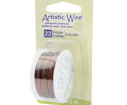 22 gauge artistic wire 22 Gauge Brown Artistic Wire (24ft) 22 Gauge Artistic Wire Top 22 Gauge Brown Artistic Wire (24Ft) Photos