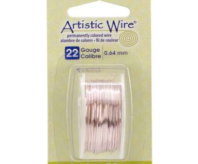 22 gauge artistic wire Artistic Wire 22 Gauge Copper Wire-8yd 22 Gauge Artistic Wire Nice Artistic Wire 22 Gauge Copper Wire-8Yd Collections