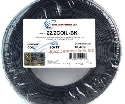 22 gauge bare wire Details about Alarm Wire Black 22 Gauge Copper Stranded 2 Conductor 500' Coil Pack UL Listed 22 Gauge Bare Wire Simple Details About Alarm Wire Black 22 Gauge Copper Stranded 2 Conductor 500' Coil Pack UL Listed Solutions