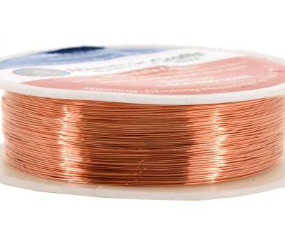 22 gauge bare wire Get Quotations · Mandala Crafts 18 20 22 24 26 28 Gauge Thick Solid Copper Wire, Beading Wrapping 22 Gauge Bare Wire Top Get Quotations · Mandala Crafts 18 20 22 24 26 28 Gauge Thick Solid Copper Wire, Beading Wrapping Collections