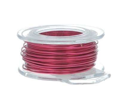 22 gauge craft wire 22 Gauge Round Magenta Enameled Craft Wire, 45, Wire Jewelry 22 Gauge Craft Wire Perfect 22 Gauge Round Magenta Enameled Craft Wire, 45, Wire Jewelry Collections