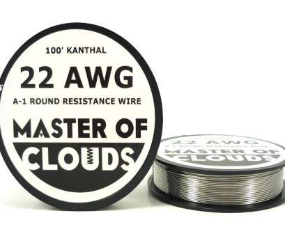 22 gauge flat kanthal wire Master of Clouds 100ft. Kanthal A1 Resistance Wire 30, Gauge 100' Lengths 22 Gauge Flat Kanthal Wire Most Master Of Clouds 100Ft. Kanthal A1 Resistance Wire 30, Gauge 100' Lengths Ideas