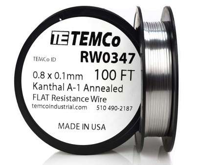 22 gauge flat kanthal wire TEMCo Flat Ribbon Kanthal A1 Wire 0.8mm x 0.1mm, Ft Resistance,, - Amazon.com 22 Gauge Flat Kanthal Wire Practical TEMCo Flat Ribbon Kanthal A1 Wire 0.8Mm X 0.1Mm, Ft Resistance,, - Amazon.Com Galleries