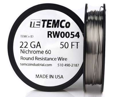 22 gauge nichrome wire TEMCo Nichrome 60 series wire 22 Gauge 50 Ft Resistance, ga, Amazon.com 13 Most 22 Gauge Nichrome Wire Pictures