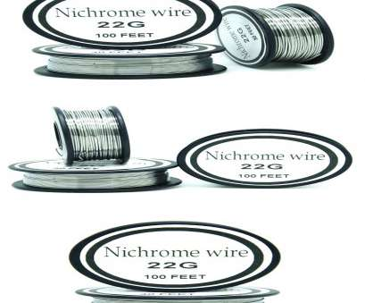 22 gauge nichrome wire Nichrome wire 22 Gauge 100FT 0.6mm Cantal Resistance Resistor, DIY atomizing core 22 Gauge Nichrome Wire Nice Nichrome Wire 22 Gauge 100FT 0.6Mm Cantal Resistance Resistor, DIY Atomizing Core Ideas