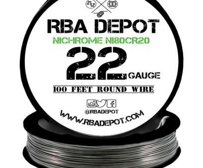 22 gauge nichrome wire resistance ... 22 Gauge, Nichrome 80 Ni80Cr20 Competition Resistance Wire -, Depot, 2 22 Gauge Nichrome Wire Resistance Simple ... 22 Gauge, Nichrome 80 Ni80Cr20 Competition Resistance Wire -, Depot, 2 Collections