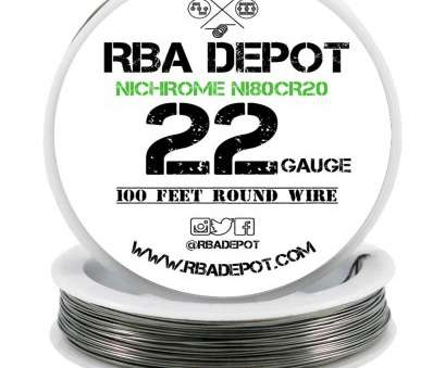 22 gauge nichrome wire resistance 22 Gauge, Nichrome 80 Ni80Cr20 Competition Resistance Wire -, Depot, 1 12 Popular 22 Gauge Nichrome Wire Resistance Solutions