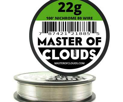 22 gauge nichrome wire resistance Nichrome 80 -, ft 22 Gauge, Resistance Wire 0.64mm, 100': Amazon.com: Industrial & Scientific 22 Gauge Nichrome Wire Resistance Popular Nichrome 80 -, Ft 22 Gauge, Resistance Wire 0.64Mm, 100': Amazon.Com: Industrial & Scientific Galleries