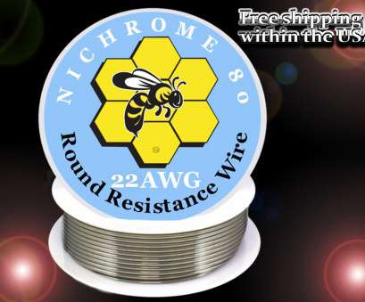 22 gauge nichrome wire resistance Nichrome 80 Resistance Wire, 22 Gauge 22 Gauge Nichrome Wire Resistance Nice Nichrome 80 Resistance Wire, 22 Gauge Collections