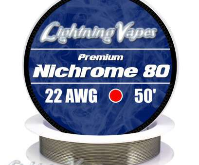 22 gauge nichrome wire resistance ... Nichrome Series 80 Resistance Wire (Even Gauges) 22 Gauge Nichrome Wire Resistance Practical ... Nichrome Series 80 Resistance Wire (Even Gauges) Pictures