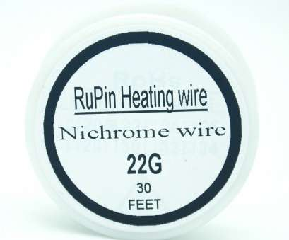 22 gauge nichrome wire resistance RuPin Heating Wrie Nichrome wire 22 Gauge 30 FT 0.6mm Resistance 22 Gauge Nichrome Wire Resistance Cleaver RuPin Heating Wrie Nichrome Wire 22 Gauge 30 FT 0.6Mm Resistance Pictures