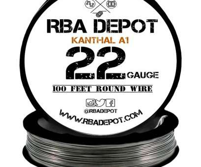 22 gauge vs 26 gauge wire ... 22 Gauge, Premium Kanthal Wire A1 Alloy Resistance Wire 0.64mm Roll -, Depot 22 Gauge Vs 26 Gauge Wire Fantastic ... 22 Gauge, Premium Kanthal Wire A1 Alloy Resistance Wire 0.64Mm Roll -, Depot Ideas
