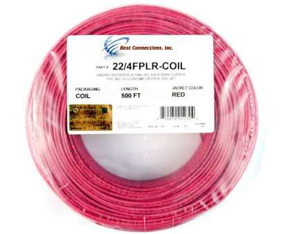 22 gauge wire bend radius Amazon.com: 4C/22, SOLID COPPER, FIRE ALARM WIRE SECURITY CABLE FPLR, 500, Home Improvement 22 Gauge Wire Bend Radius Best Amazon.Com: 4C/22, SOLID COPPER, FIRE ALARM WIRE SECURITY CABLE FPLR, 500, Home Improvement Solutions