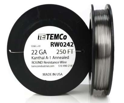 22 gauge wire ebay Temco Kanthal A1 Wire 22 Gauge, FT (250, Resistance, A-1 GA 22 Gauge Wire Ebay Top Temco Kanthal A1 Wire 22 Gauge, FT (250, Resistance, A-1 GA Ideas