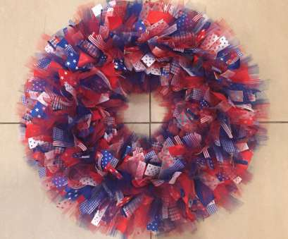 22 gauge wire hobby lobby 4th of July wreath using ribbon, a wire wreath frame from hobby lobby 2.99 size 22 Gauge Wire Hobby Lobby New 4Th Of July Wreath Using Ribbon, A Wire Wreath Frame From Hobby Lobby 2.99 Size Solutions