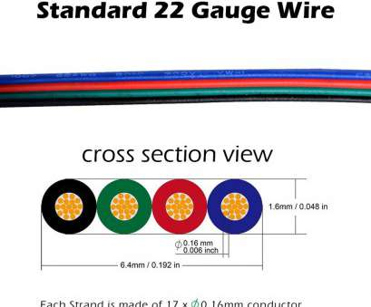 22 gauge wire hobby lobby RGB, Strip Connector, 4, With Extension Wire UL Listed, Feet/3 Meter 22 Gauge 4 Conductor,, Both Strip to Power Lead, Strip to Strip 22 Gauge Wire Hobby Lobby Creative RGB, Strip Connector, 4, With Extension Wire UL Listed, Feet/3 Meter 22 Gauge 4 Conductor,, Both Strip To Power Lead, Strip To Strip Collections