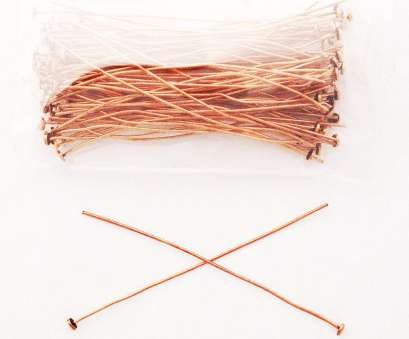 22 gauge wire for jewelry making Solid Copper 2.5-Inch Plain Head Pins 22-Gauge Wire JSM23, Jewelry Making, Jewelry Repair 22 Gauge Wire, Jewelry Making New Solid Copper 2.5-Inch Plain Head Pins 22-Gauge Wire JSM23, Jewelry Making, Jewelry Repair Collections