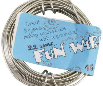 22 gauge wire for jewelry making Toner Plastic Coated, Wire, 22-Gauge,, Silver, 15 Ft 22 Gauge Wire, Jewelry Making Fantastic Toner Plastic Coated, Wire, 22-Gauge,, Silver, 15 Ft Ideas
