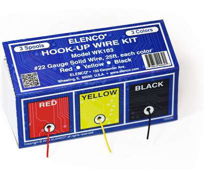 22 gauge wire kit Amazon.com: Elenco Electronics WK-103 Hook-Up 3 Colors Wire Kit: Toys & Games 22 Gauge Wire Kit Practical Amazon.Com: Elenco Electronics WK-103 Hook-Up 3 Colors Wire Kit: Toys & Games Pictures