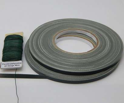 22 gauge wire kit Amazon.com: Green Floral Tape, rolls of 1/4