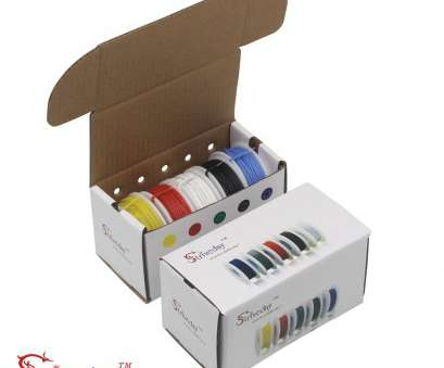 22 gauge wire kit Striveda 22, Flexible Silicone Soild wire, box Electric wire 22 gauge Hook Up Wire 300V Cable (19.6ft Each Color)-in Wires & Cables from Lights 22 Gauge Wire Kit Simple Striveda 22, Flexible Silicone Soild Wire, Box Electric Wire 22 Gauge Hook Up Wire 300V Cable (19.6Ft Each Color)-In Wires & Cables From Lights Ideas