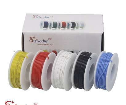 22 gauge wire kit Striveda 22, Flexible Silicone Soild wire, box Electric wire 22 gauge Hook Up Wire 300V Cable (19.6ft Each Color)-in Wires & Cables from Lights 22 Gauge Wire Kit Simple Striveda 22, Flexible Silicone Soild Wire, Box Electric Wire 22 Gauge Hook Up Wire 300V Cable (19.6Ft Each Color)-In Wires & Cables From Lights Galleries