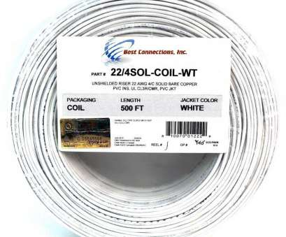 22 gauge wire price 22 Gauge 4 Conductor White Solid Copper Security Alarm Wire Cable, Feet 22 Gauge Wire Price Best 22 Gauge 4 Conductor White Solid Copper Security Alarm Wire Cable, Feet Galleries