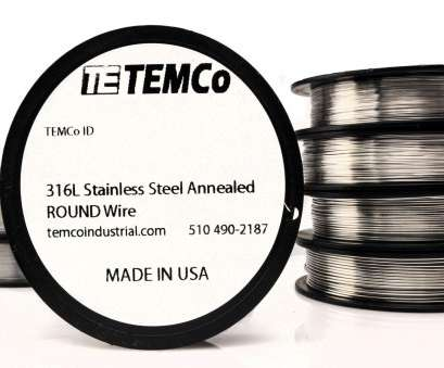 22 gauge wire price Temco Stainless Steel Wire SS 316l, 22 Gauge 50 FT Non-resistance, GA 22 Gauge Wire Price Nice Temco Stainless Steel Wire SS 316L, 22 Gauge 50 FT Non-Resistance, GA Collections