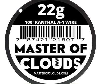 22 gauge wire resistance 100 ft, 22 Gauge Kanthal A1 Resistance Wire from Master Of Clouds, Amazon.com 22 Gauge Wire Resistance Nice 100 Ft, 22 Gauge Kanthal A1 Resistance Wire From Master Of Clouds, Amazon.Com Galleries