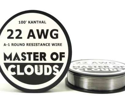 22 gauge wire resistance 100ft 22 Gauge Kanthal A1 Resistance Wire from Master Of Clouds 22 Gauge Wire Resistance Best 100Ft 22 Gauge Kanthal A1 Resistance Wire From Master Of Clouds Collections