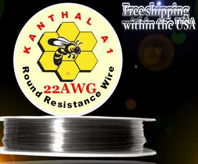 22 gauge wire resistance Kanthal A1 Resistance Wire, 22 Gauge 20 Practical 22 Gauge Wire Resistance Collections