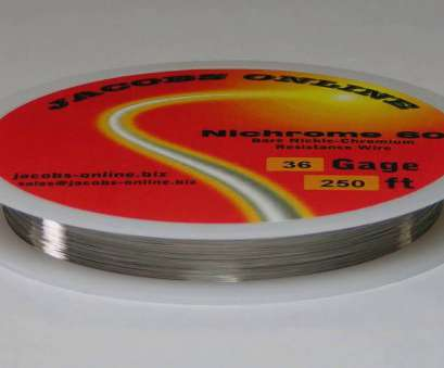 22 gauge wire resistance Nichrome 80, ft 36 Gauge, Resistance Wire 0.13mm, 100, YouTube 22 Gauge Wire Resistance Popular Nichrome 80, Ft 36 Gauge, Resistance Wire 0.13Mm, 100, YouTube Solutions