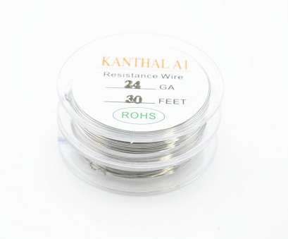 22 gauge wire resistance Original 10m/roll Kanthal A1 Wire Resistance Wire 20/22/24/26/28, Gauge Heating Wires, RTA, Mechanical Atomizer Tank-in Electronic Cigarette 22 Gauge Wire Resistance Nice Original 10M/Roll Kanthal A1 Wire Resistance Wire 20/22/24/26/28, Gauge Heating Wires, RTA, Mechanical Atomizer Tank-In Electronic Cigarette Galleries