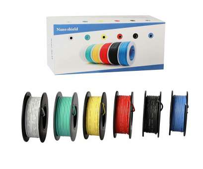 22 gauge wire stranded Nano Shield NS085 Hook-up Stranded Wire 22, with UL3132, 6 Colors (23ft Each) Flexible 22 Gauge Silicone Wire Rubber Insulated Electrical Wire 22 Gauge Wire Stranded Practical Nano Shield NS085 Hook-Up Stranded Wire 22, With UL3132, 6 Colors (23Ft Each) Flexible 22 Gauge Silicone Wire Rubber Insulated Electrical Wire Ideas