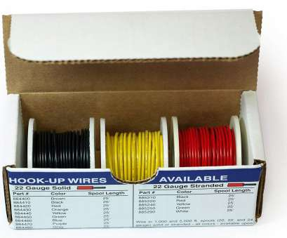 22 gauge wire vs 24 gauge wire Amazon.com: Elenco Electronics WK-103 Hook-Up 3 Colors Wire Kit: Toys & Games 22 Gauge Wire Vs 24 Gauge Wire Nice Amazon.Com: Elenco Electronics WK-103 Hook-Up 3 Colors Wire Kit: Toys & Games Images