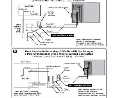 Gfci Wiring Diagram For Hot Tub.Wiring 220v Hot Tub Wiring Schematics