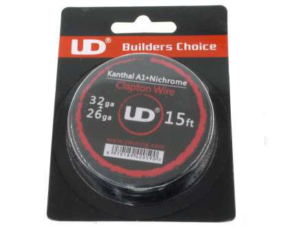 24-26 gauge wire 100% Original Youde UD 15/30 Ft A120 22 24 26 28 30 32 Gauge Twisted Clapton Wire, RDA, DIY Coil Heads-in Electronic Cigarette Accessories from 24-26 Gauge Wire Cleaver 100% Original Youde UD 15/30 Ft A120 22 24 26 28 30 32 Gauge Twisted Clapton Wire, RDA, DIY Coil Heads-In Electronic Cigarette Accessories From Photos