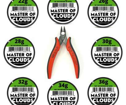 24-26 gauge wire Details about Wire Cutters w/ Mixed, Feet of Nichrome 80 Wire 22,24,26,28,30,32,34,36 Gauge 24-26 Gauge Wire Most Details About Wire Cutters W/ Mixed, Feet Of Nichrome 80 Wire 22,24,26,28,30,32,34,36 Gauge Ideas