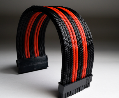 24 gauge red and black wire custom-mdpc-x-sleeved-pc-cable-extension-mod 24 Gauge, And Black Wire Perfect Custom-Mdpc-X-Sleeved-Pc-Cable-Extension-Mod Solutions