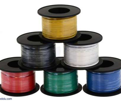 24 gauge red and black wire Pololu, Stranded Wire 24 Gauge, And Black Wire Fantastic Pololu, Stranded Wire Ideas