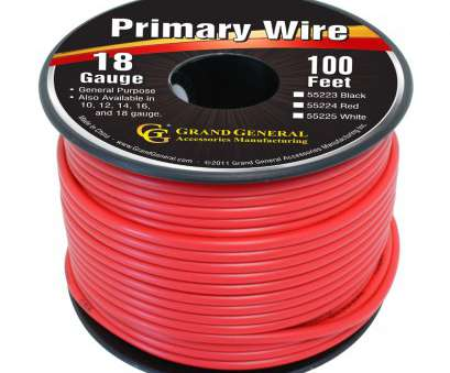 24 gauge red and black wire Primary Wires in 18 Gauge, Grand General, Auto Parts Accessories 24 Gauge, And Black Wire Practical Primary Wires In 18 Gauge, Grand General, Auto Parts Accessories Galleries