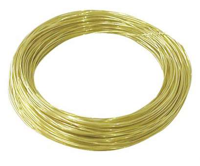 24 gauge brass wire OOK 28 Gauge, 75ft Brass Hobby Wire 24 Gauge Brass Wire Creative OOK 28 Gauge, 75Ft Brass Hobby Wire Collections