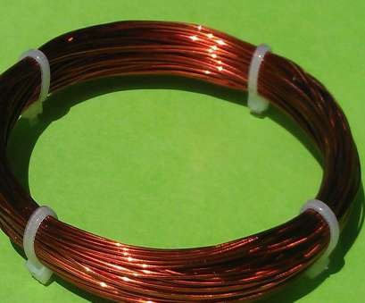 24 gauge enameled copper wire 0.50mm, 24 Gauge, Enameled Copper Magnet Wire conductor winding 60ft, 1, $1.99 24 Gauge Enameled Copper Wire Professional 0.50Mm, 24 Gauge, Enameled Copper Magnet Wire Conductor Winding 60Ft, 1, $1.99 Solutions