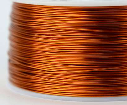 24 gauge enameled copper wire TEMCo Magnet Wire 24, Gauge Enameled Copper 200C, 790ft Coil Winding; Picture 2 of 3 24 Gauge Enameled Copper Wire Best TEMCo Magnet Wire 24, Gauge Enameled Copper 200C, 790Ft Coil Winding; Picture 2 Of 3 Images