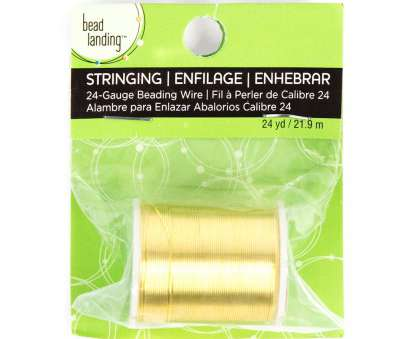 24 gauge gold wire 24 Gauge Gold Beading Wire by Bead Landing™ 8 Brilliant 24 Gauge Gold Wire Galleries