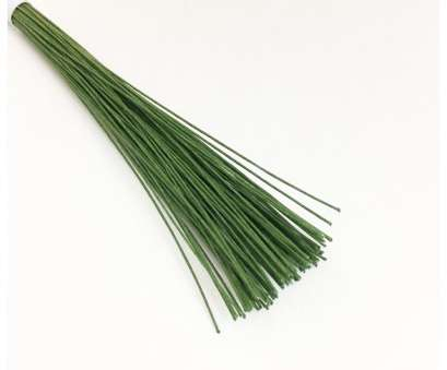 24 Gauge Green Floral Wire Practical Dark Green Floral Wire, Gauge No 28 Solutions