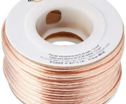 24 gauge insulated copper wire 7 AmazonBasics 50-feet, 16-Gauge Speaker Wire 24 Gauge Insulated Copper Wire Top 7 AmazonBasics 50-Feet, 16-Gauge Speaker Wire Galleries