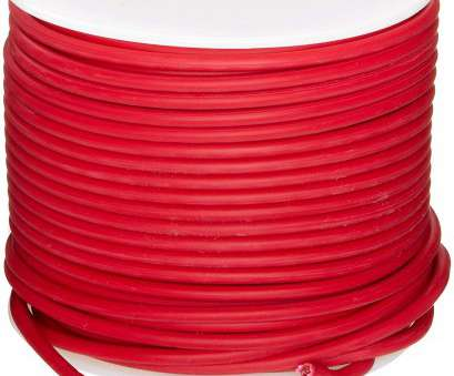 24 gauge insulated copper wire GXL Automotive Copper Wire, Red, 12 AWG, 0.0808