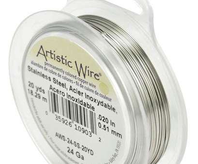 24 gauge jewellery wire Amazon.com: Artistic Wire Beadalon AWS-24-SS-20YD 24 Gauge, Stainless Steel, 20-Yard 24 Gauge Jewellery Wire Popular Amazon.Com: Artistic Wire Beadalon AWS-24-SS-20YD 24 Gauge, Stainless Steel, 20-Yard Pictures