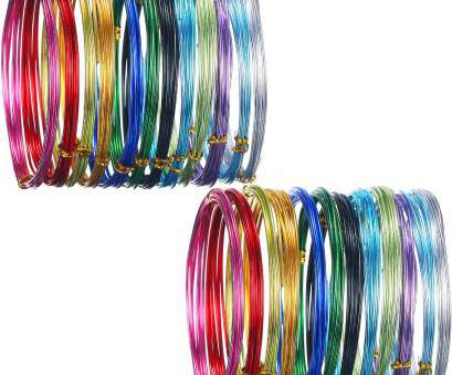 24 gauge jewellery wire Hestya 24 Rolls Multi-colored Aluminum Craft Wire, Flexible Metal, Art Creation and 24 Gauge Jewellery Wire Nice Hestya 24 Rolls Multi-Colored Aluminum Craft Wire, Flexible Metal, Art Creation And Pictures